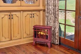 duraflame 8511 cinnamon infrared electric fireplace stove with remote control dfi 8511 03