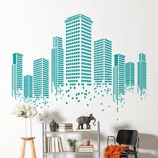 Office walls design Wood Sirface Graphics Urban Wall Decal Office Wall Decal Sirface Graphics