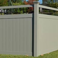 black vinyl privacy fence. Bradford Privacy Fence 6 Black Vinyl