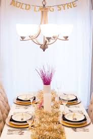 New Years Eve Table Decorations - Festive New Year\u0027s Dinner Party ...