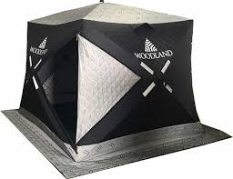 <b>Зимняя палатка куб Woodland</b> Ultra Comfort, трехслойная купить ...
