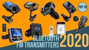 Top 10: Best Bluetooth <b>FM Transmitter</b> for <b>Cars</b> 2020 / Best ...