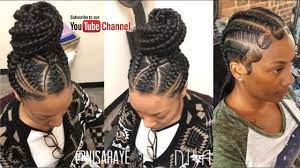 We'll be looking at some unique ghana weaving shuku styles for today. Ghana Weaving Hairstyle For Black African 2018 Youtube