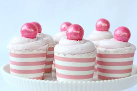 Image result for pink cupcakes