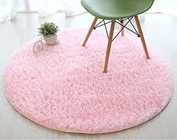pink rug for nursery super soft thick fluffy kids rug nursery decor luxury round children area pink rug