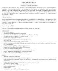 Receptionist Administrative Assistant Job Description Template