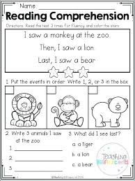Kindergarten Reading Worksheets Best Resource Images On Of Printable ...