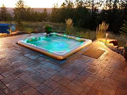 patio designs with fire pit and hot tub. Backyard Fire Pit Gallery Patio Designs With And Hot Tub