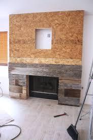 Reclaimed Wood Fireplace Ideas - b3b50ac8296a82cce3c89f1873 pallet fireplace  wood fireplace surrounds
