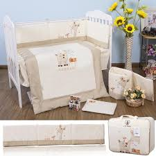 100 cotton embroidery pony with bird yarra farm story baby bedding set quilt pillow per bed sheet 5 item crib bedding set children s bedding sets kids