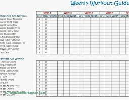 Monthly Workout Schedule Template 014 Weekly Workout Schedule Template Plan Excel Stirring