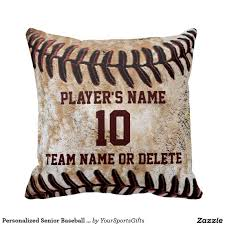create a unique baseball to go out and hit with your friends or children personalized senior baseball player gifts baseball throw