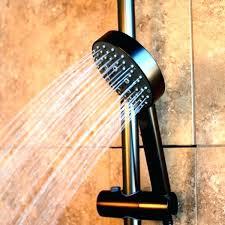 moen dual shower head system oil rubbed bronze hand held shower heads multiple shower head systems