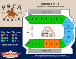Denver Coliseum Seating Chart Rodeo Mscf Rodeo The Ranch Larimer County Fairgrounds Events