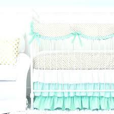 pink and gold crib bedding sets gold crib bedding sets lane mint and gold dot ruffle
