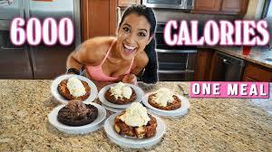 bj s restaurant pizookie challenge vs food 6000 calories in one meal