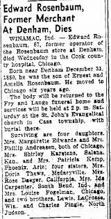 Obituary for Edward ROSENBAUM - Newspapers.com