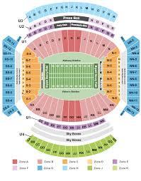 Iron Bowl Tickets Bryant Denny Stadium Seating Chart