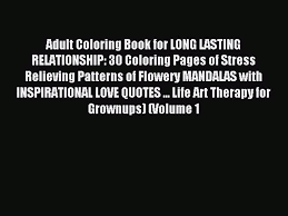 Read Adult Coloring Book For Long Lasting Relationship 30 Coloring