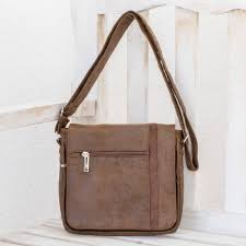 faux leather messenger bag in chocolate from costa rica chocolate travels