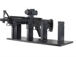 Handgun Display Stand Simple Plastix Plus AR32 32Gun Display Stand Plastic Black MPN PPAR32
