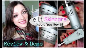 e l f new skincare review demo should you it