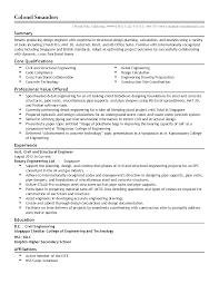 Residential Structural Engineer Sample Resume