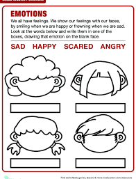 Mad Sad Happy Glad Character Feelings Lesson Plan