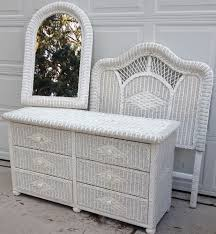 wicker bedroom furniture. Latest White Wicker Bedroom Set Gorgeous Furniture Qbenet Pertaining To Designs 3
