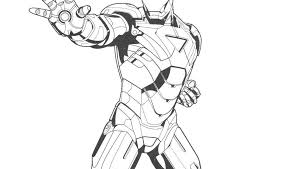 Iron man has an advantage in ranged combat that captain america lacks, not to mention he possesses defenses like force field shields. Iron Man Posing Coloring Pages Superhero Coloring Superhero Iron Man Outline Drawing At Ge Superhero Coloring Captain America Coloring Pages Iron Man Cartoon