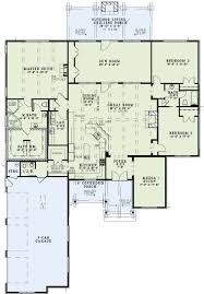house plans kitchen in front beautiful house plan