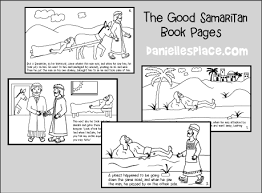 Good Samaritan Bible Crafts For Children