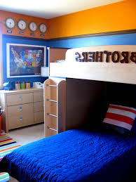 white furniture bedroom ideas interesting bedroom. Marvelous Design Of The Boys Room Paint Ideas With Blue And Orange Wall Added White Furniture Bedroom Interesting