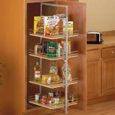 Roll Out Pantry Cabinet Center Mount Pantry Roll Out System Nickel In Pull Out Pantry