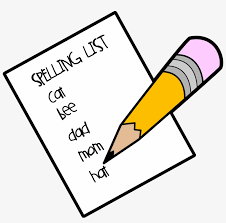 Image result for free spelling clipart