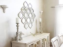 dining room wall decor with mirror for modern ultra unique diy her style grace contemporary mirrors
