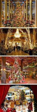 best ideas about christmas essay christmas photo essay sparkling hotel lobbies decked out for christmas