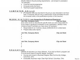 Computer Skills To List On Resume Computer Skills On Resume Sample 100x100 Typing Skill Example 76