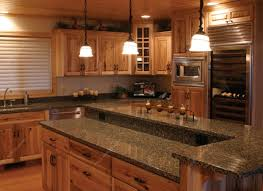 Kitchen:Best Countertops Ideas For Kitchen Design Orangearts Traditional  With Island Wooden Cabinetry Window Treatment