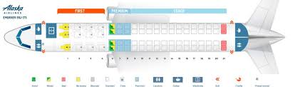 Embraer 175 Seating Chart Alaska Airlines Fleet Embraer 175 Details And Pictures