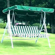 outside swings with canopy replacement