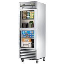 commercial small refrigerator image nabateans org true t 23dt g 27 one section commercial refrigerator freezer glass doors