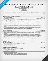 Nuclear Medicine Cover Letter Sample | Adriangatton.com