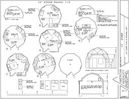 Pod House Plans Tiny Dome Home Kits Aidomes