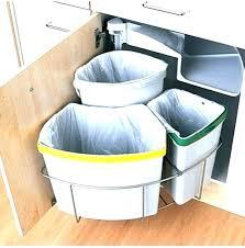 under cabinet trash can under sink trash kitchen cabinet trash can trash cans kitchen under cabinet