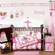 girl monkey crib bedding cute baby sets