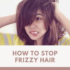 how to stop frizzy hair bellatory