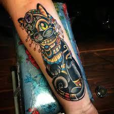Bastet Tattoo Egyptian Kitty 3 Facebookcomkristielundgren