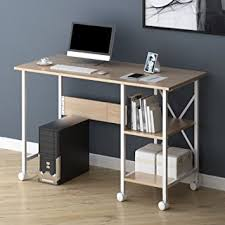 folding office desk. cherry tree furniture 2in1 extending folding computer office desk pc workstation table