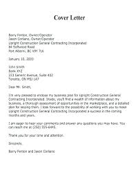 95 Construction Bid Cover Letter Marketing Request For